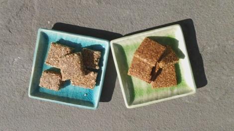 Two variations - cinamon chokilate and honey