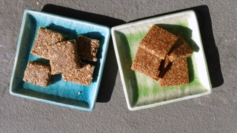 Two variations - cinnamon chocolate and honey